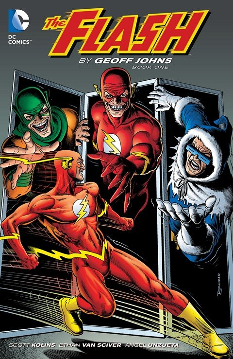 The Flash By Geoff Johns Book 1 – 3 (2015-2016)