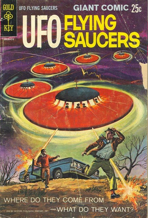 UFO Flying Saucers #1 – 25