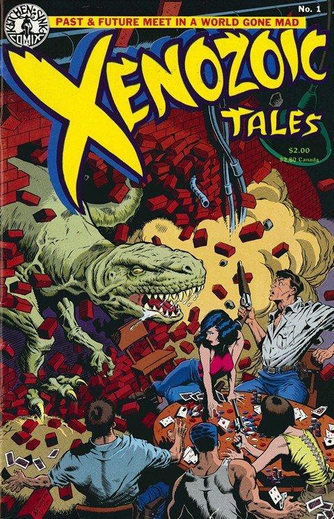 Xenozoic Tales #1 – 14