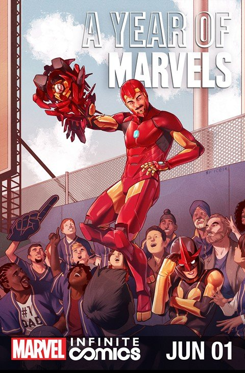 A Year of Marvels – June Infinite Comic #1