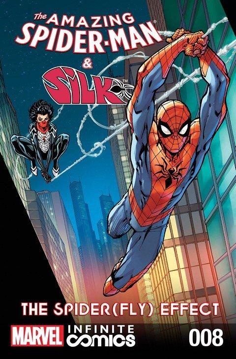 Amazing Spider-Man & Silk – Spider(Fly) Effect Infinite Comic #1 – 8 (2016)