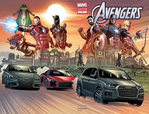 Avengers – King of the Road #1