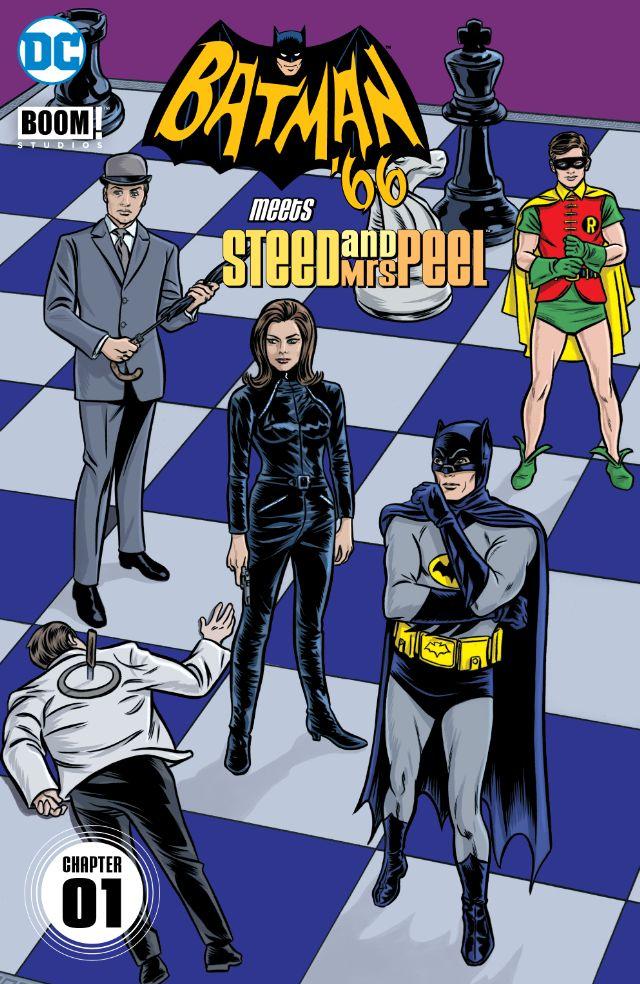 Batman 66 Meets Steed and Mrs Peel #1