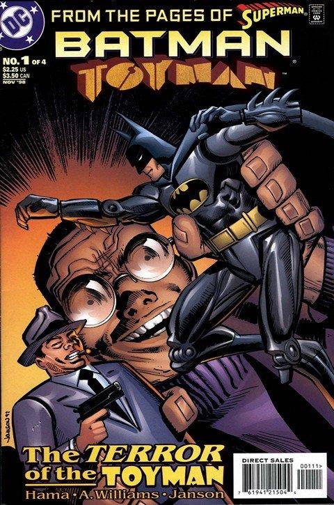 Batman – Toyman #1 – 4