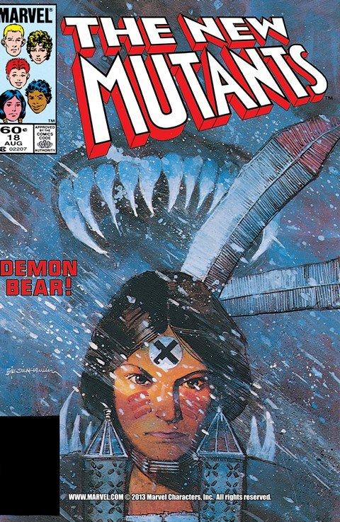 Bill Sienkiewicz – The New Mutants #18 – 31