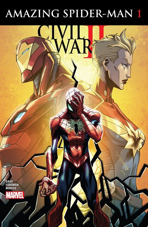 Civil War II – Amazing Spider-Man #1