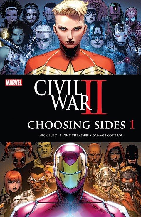 Civil War II – Choosing Sides #1