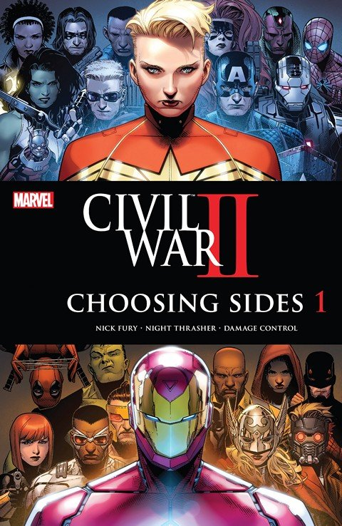 Civil War II – Choosing Sides #1