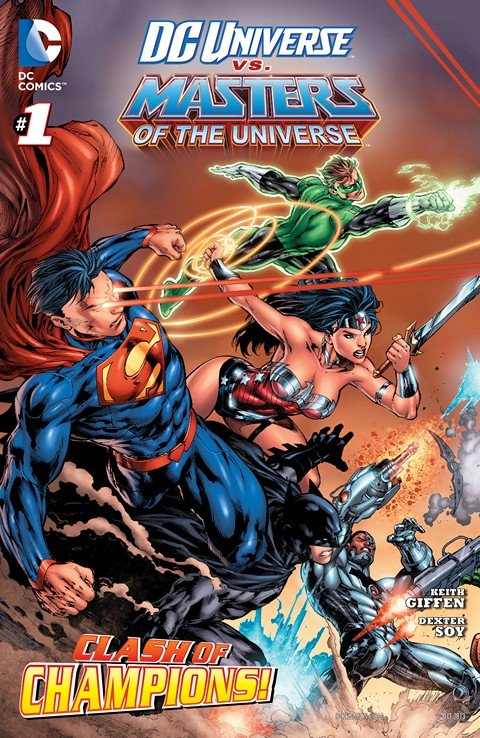 DC Universe vs. The Masters of the Universe #1 – 6