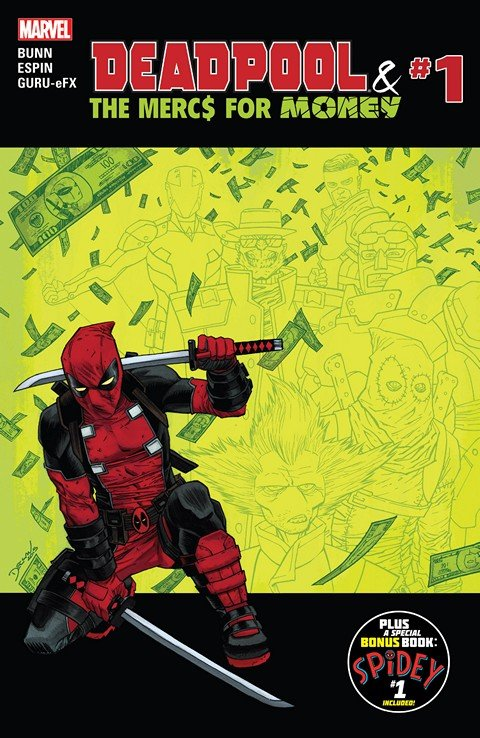 Deadpool & The Mercs For Money Vol. 1 #1 – 5 (2016)