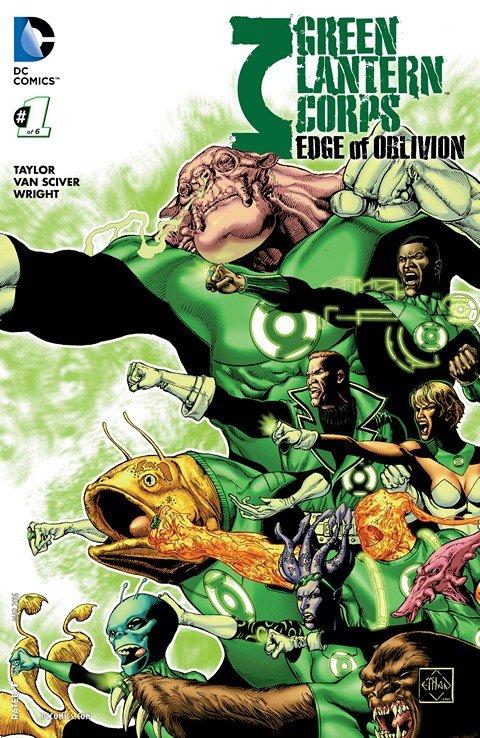 Green Lantern Corps – Edge of Oblivion #1 – 6