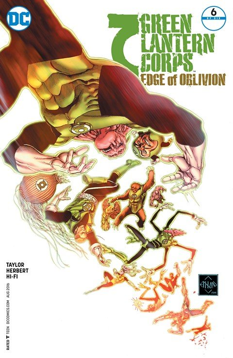 Green Lantern Corps – Edge of Oblivion #6