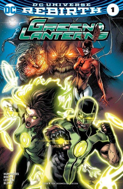 Green Lanterns #1 (2016)