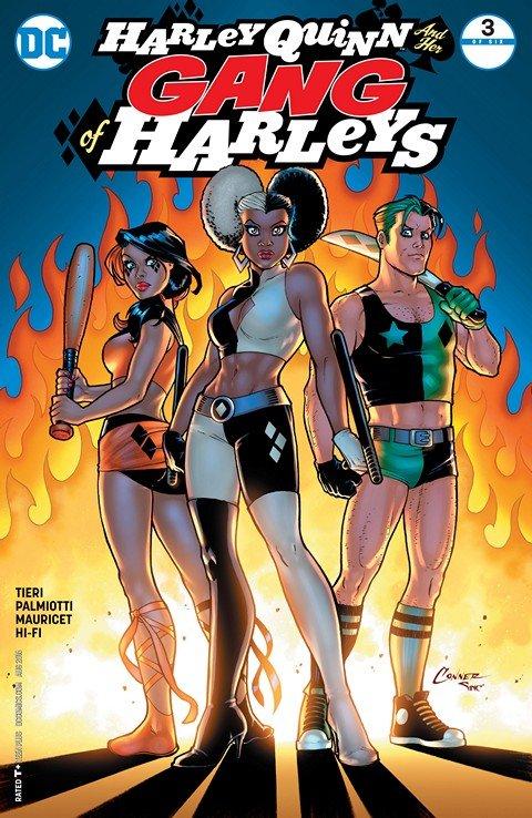 Harley Quinn and Her Gang of Harleys #3