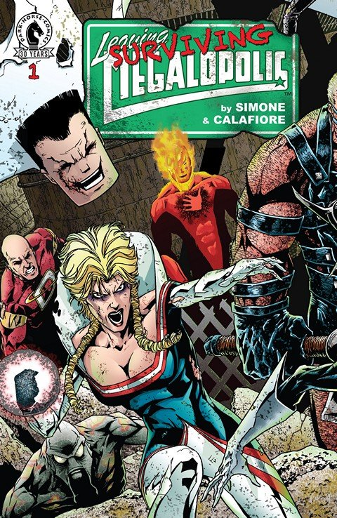 Leaving Megalopolis – Surviving Megalopolis #1 – 6