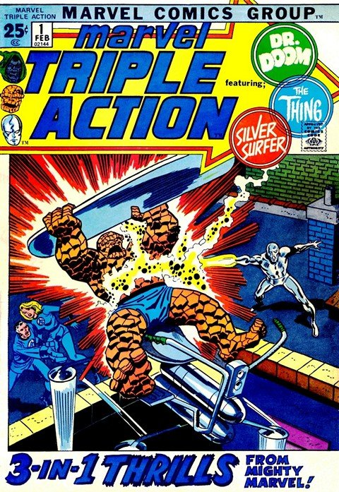Marvel Triple Action (Vol. 1 – Vol. 2 + Giant Size) (1972-2009)