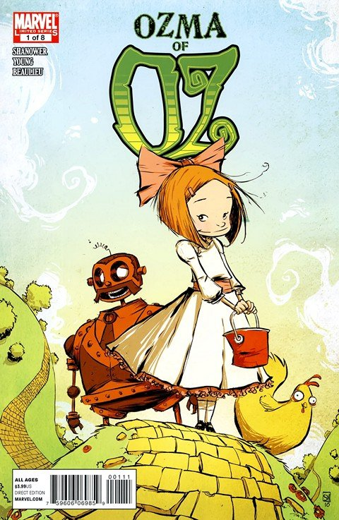 Ozma of Oz #1 – 8