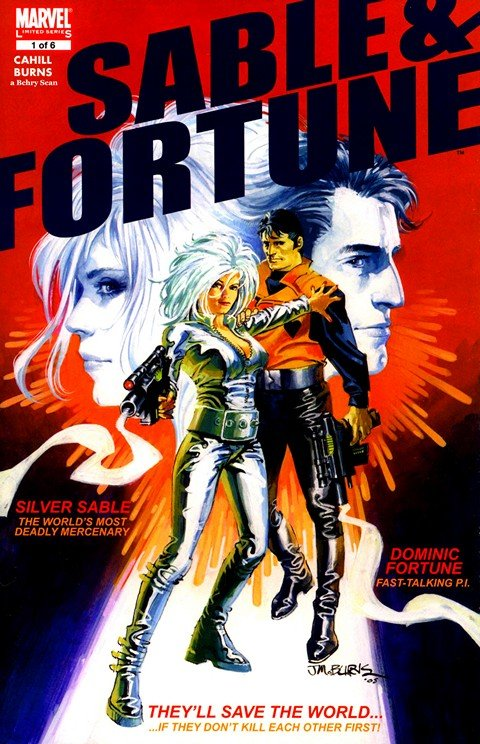 Sable and Fortune #1 – 4