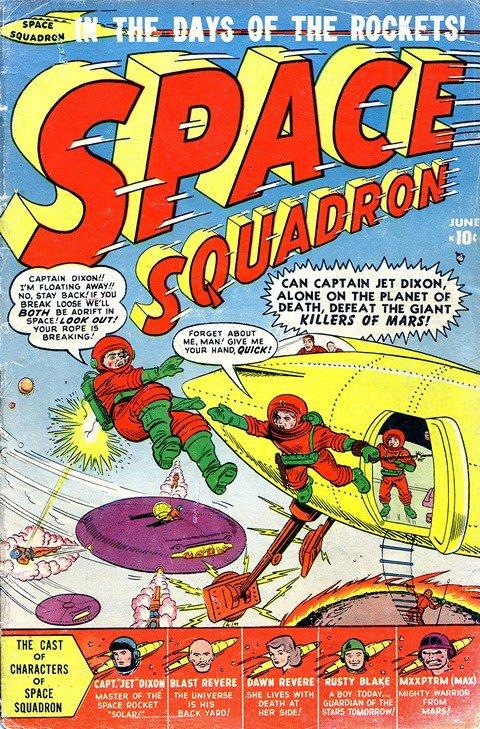 Space Squadron #1 – 5
