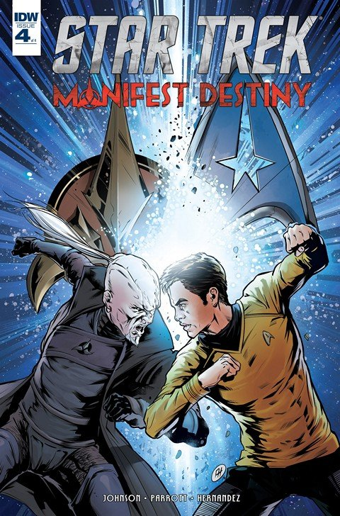 Star Trek Manifest Destiny #4