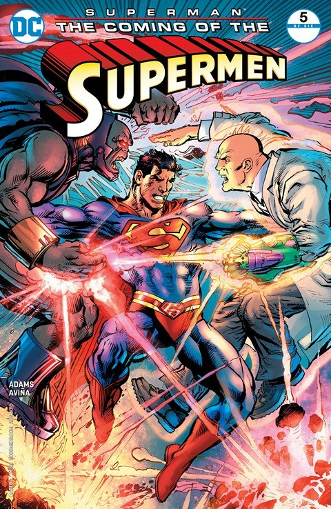 Superman – The Coming of the Supermen #5