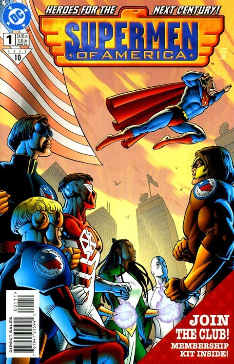 Supermen of America Vol. 1 #1