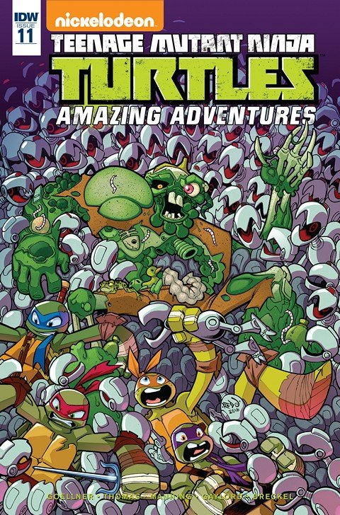 Teenage Mutant Ninja Turtles – Amazing Adventures #11