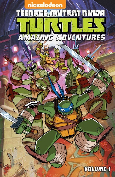 Teenage Mutant Ninja Turtles – Amazing Adventures Vol. 1