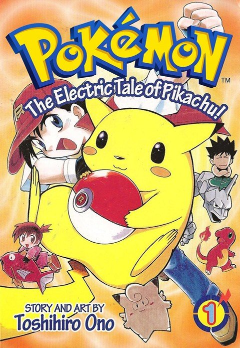The Electric Tale of Pikachu Vol. 1