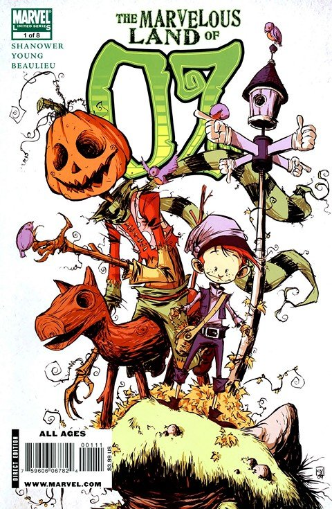 The Marvelous Land of Oz #1 – 8