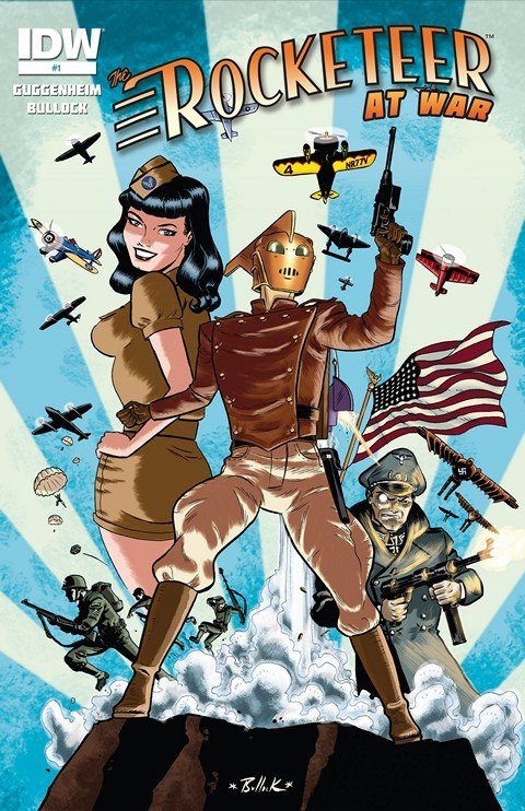 The Rocketeer At War #1 – 4