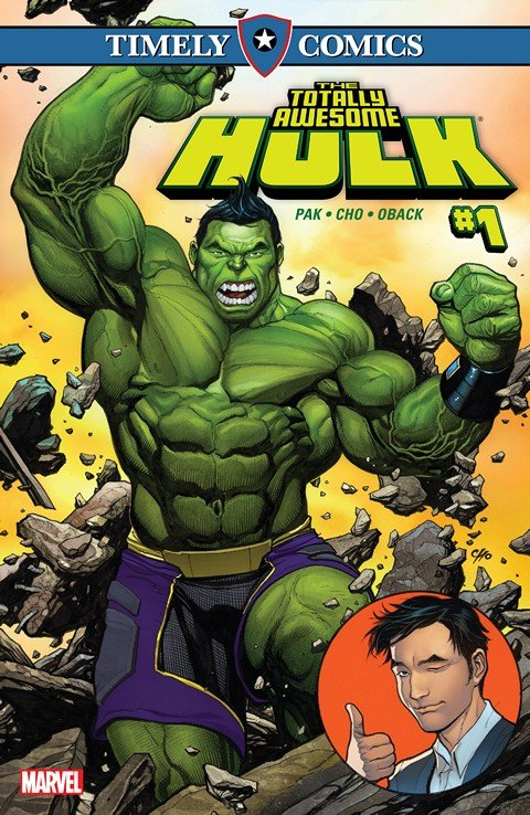 Timely Comics The Totally Awesome Hulk #1