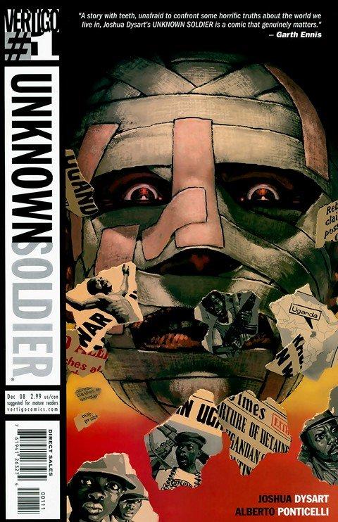 Unknown Soldier #1 – 25 (2008-2010)