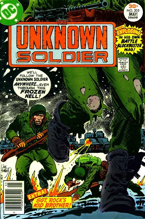 Unknown Soldier Vol. 1 #205 – 257