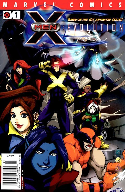 X-Men Evolution #1 – 9 (2002)