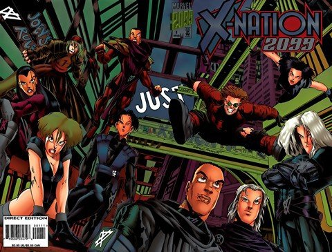 X-Nation 2099 #1 – 6