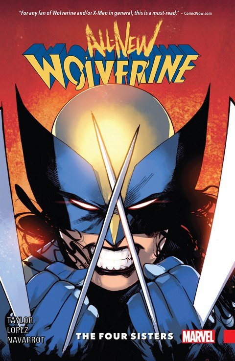 All-New Wolverine Vol. 1 – The Four Sisters (TPB) (2016)