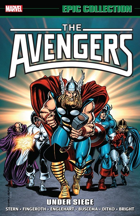 Avengers Epic Collection – Under Siege (2016)