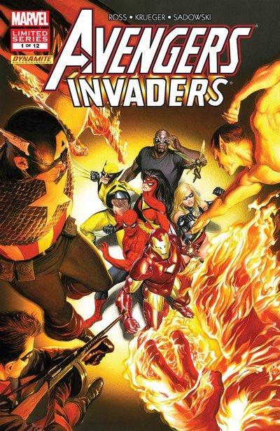 Avengers – Invaders #1 – 12 (2008-2009)