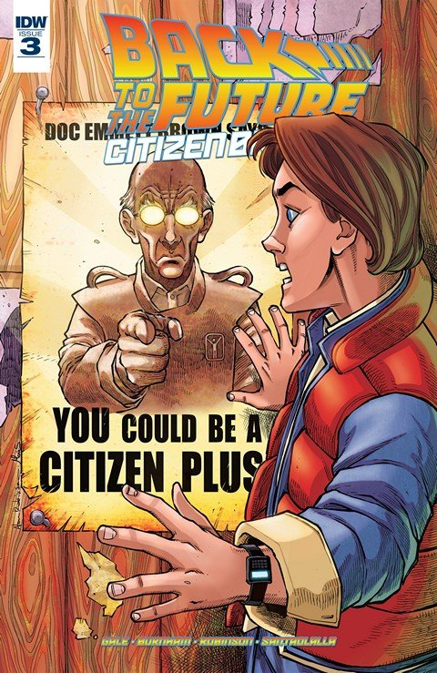 Back to the Future – Citizen Brown #3