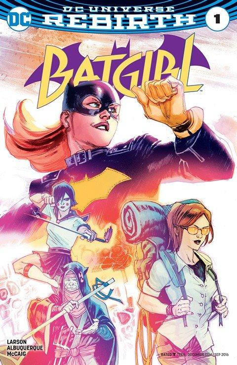 Batgirl #1 (2016)