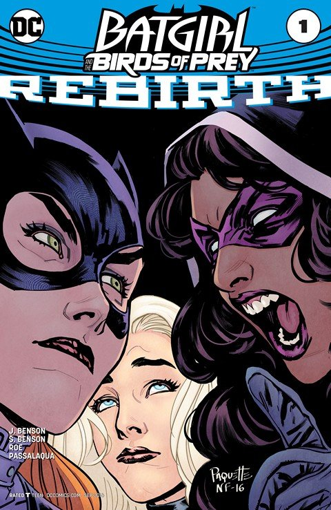 Batgirl and the Birds of Prey – Rebirth #1