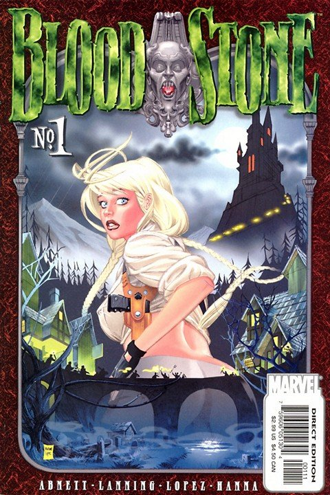 Bloodstone #1 – 4 (2001-2002)