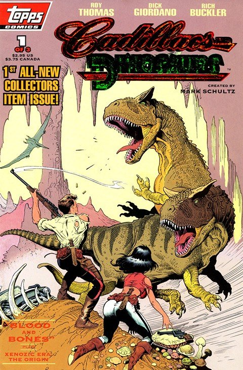 Cadillacs and Dinosaurs Vol. 2 #1 – 9