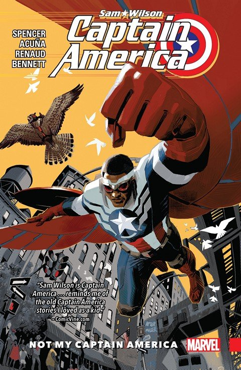 Captain America – Sam Wilson Vol. 1 – Not My Captain America (2016)