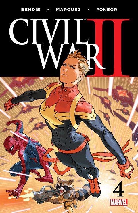 Civil War II #4 (2016)