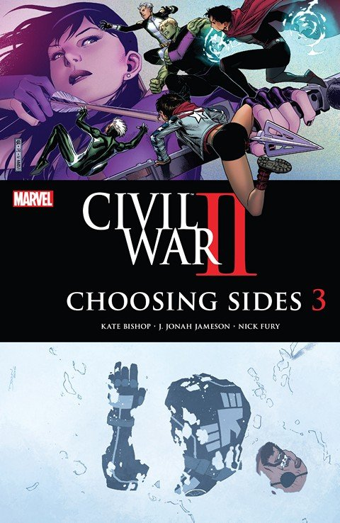Civil War II – Choosing Sides #3
