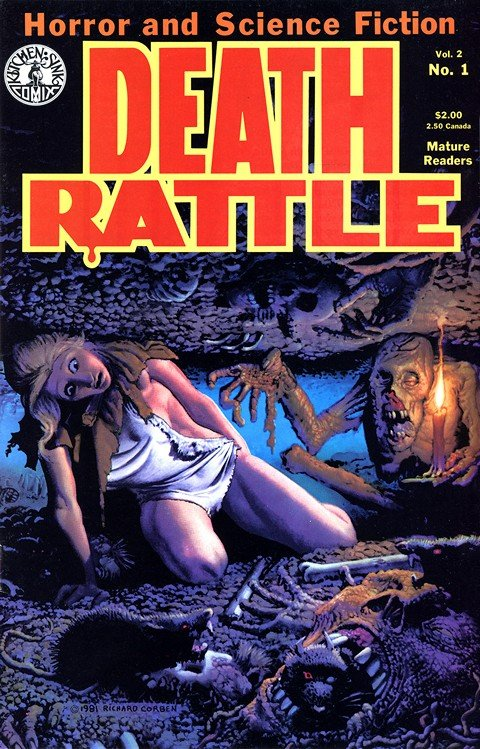 Death Rattle Vol. 2 #1 – 18