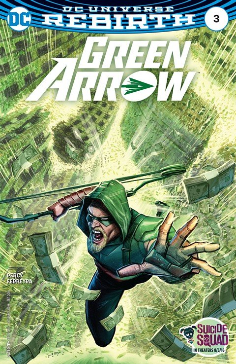 Green Arrow #3 (2016)