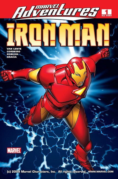 Marvel Adventures Iron Man #1